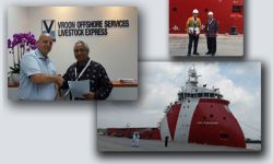 PT Baruna Raya Logistics works with Vroon Offshore Services